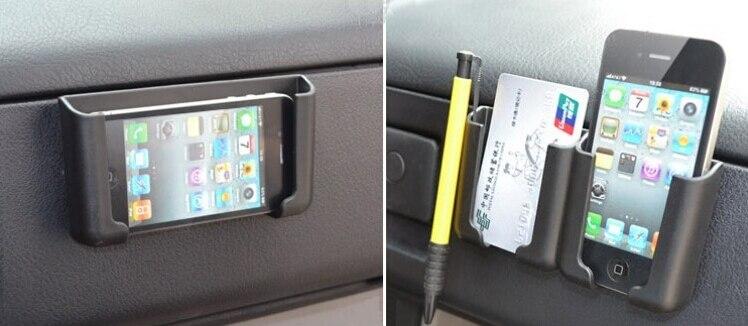Carros Acessorios Interiores Auto Universal Telefone Do Carro Titular Movel Celular Para Iphone 5 Samsung Gps Cartoes De Visita Caneta Em