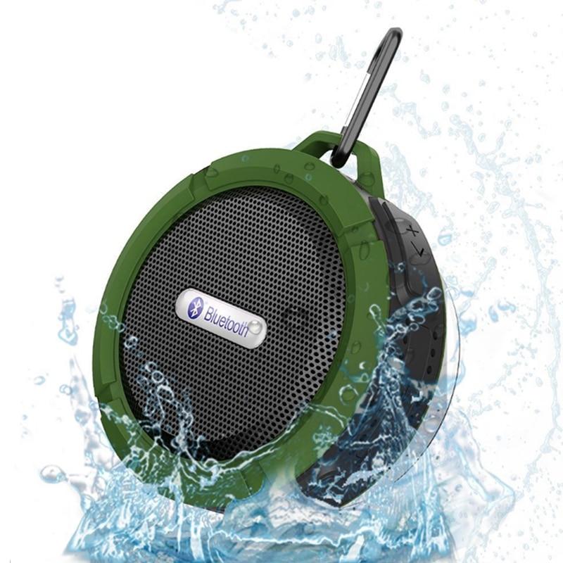 Mini Altavoz Bluetooth impermeable C6 Altavoces estéreo - Audio y video portátil - foto 5