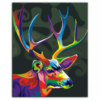 Oil Painting handmade Modern Canvas on Paintings Home living room Decor Home decoration painting Wall Art reindeer 17022208