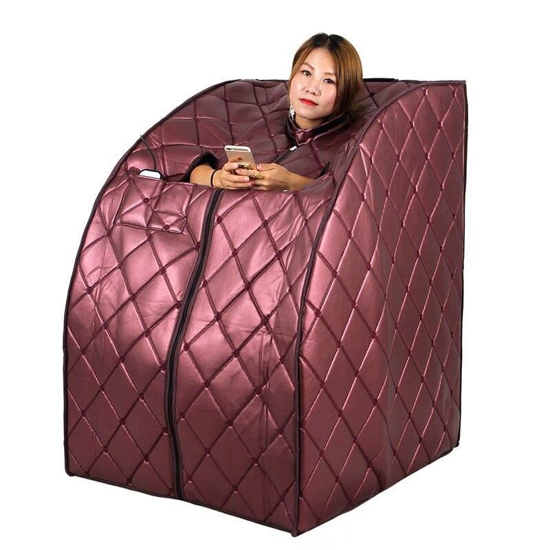De lujo de infrarrojo lejano Sauna portátil adelgaza pérdida de peso de iones negativos desintoxicación terapia radiante rejuvenecedor pie Placa de calor