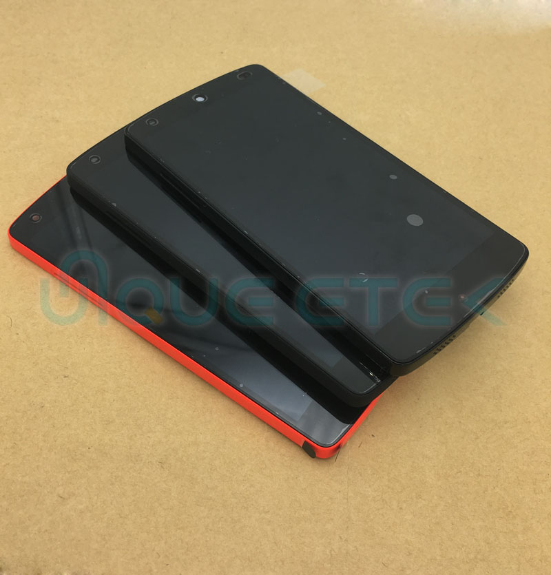 ORIGINAL For LG Nexus 5 D820 D821 LCD Touch Screen Display With Frame For LG Google Nexus 5 4.95