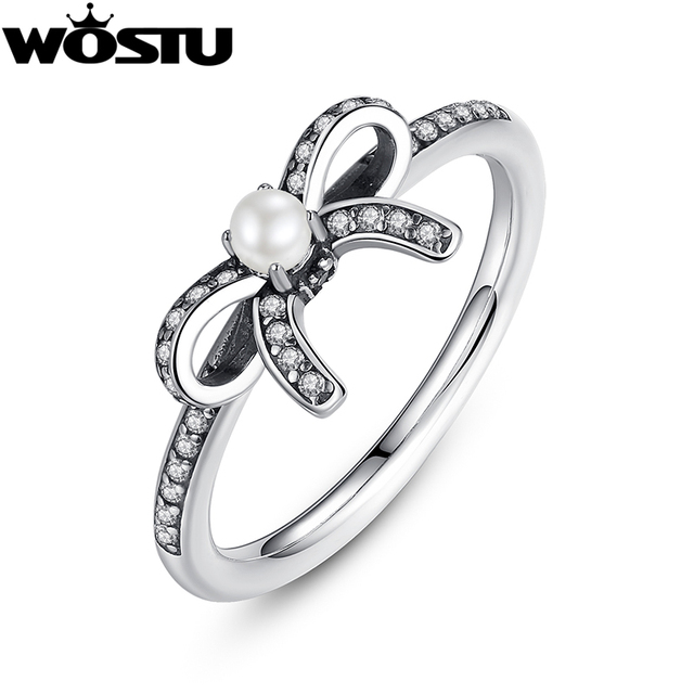 item sterling diamond for cz knot bow women silver rings ring layers rhinestones jewelry double adjustable butterfly