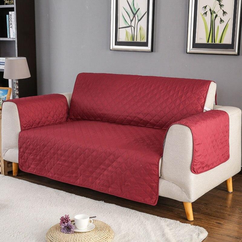 1 stücke einfarbig sofa couch Abdeckung mantel Waschbar Abnehmbare Handtuch Armlehne couch Deckt Hussen Hund Haustiere Single/Zwei /drei Sitzer