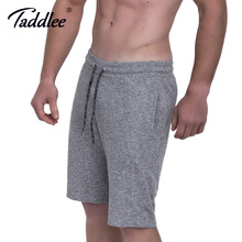 Taddlee Brand Men's Gym Fitness Running Sport Shorts Soft Men Profession Bodybuilding Training Short Pants Gasp Big Size Bottoms