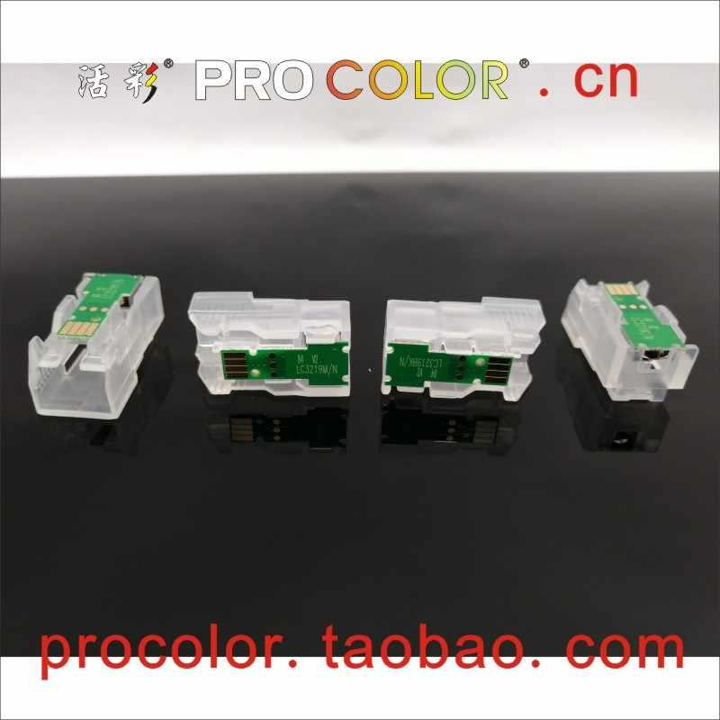 LC3619 XXL LC3617 Isi Ulang Tinta Kartrid Satu Waktu Chip Ganti Kode untuk Brother MFC-J3930DW MFC-J3530DW MFC-J2330DW MFC-J2730DW Printer