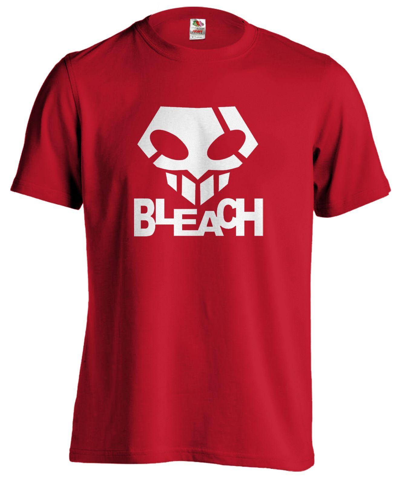 Bleach Skull Logo Anime Manga T Shirt Tee Cartoon