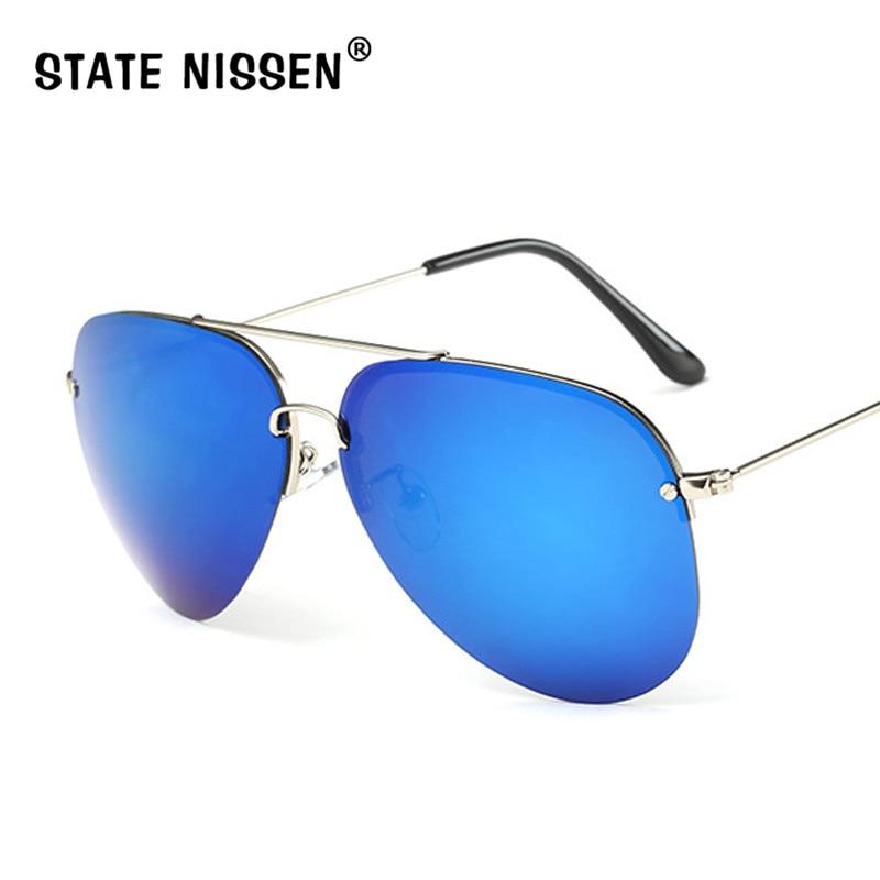 STATA NISSEN Brand Pilot Sunglasses Retro Classic Designer Men Sunglasses Polarized Sun Glasses Driving Fishing UV400 Oculos