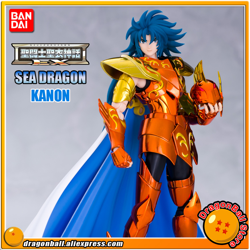 Japan Anime Saint Seiya Original BANDAI Tamashii Nations Saint Cloth Myth EX Action Figure - SEA DRAGON KANON фигурка героя мультфильма saint seiya metalclub galaxy ex kanon 15003