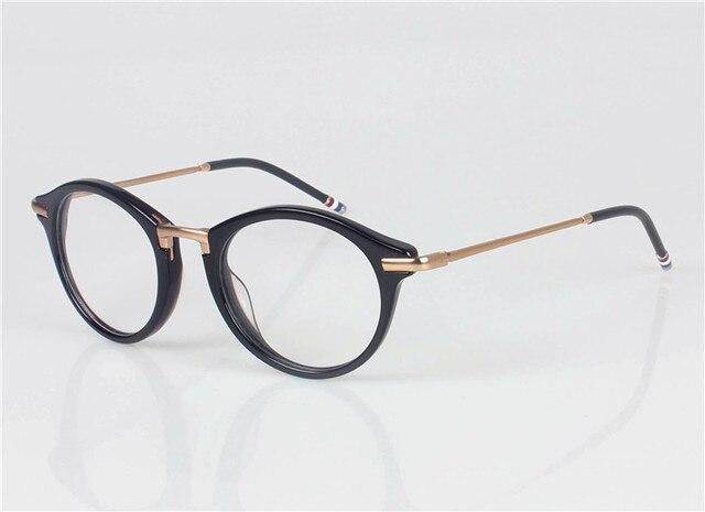 ed1f97584c9f THOM BROWNE TB-808-C Eyeglasses Frames glasses women men Fashion Glasses  Computer Optical Frame Oculos De Grau eye glasses