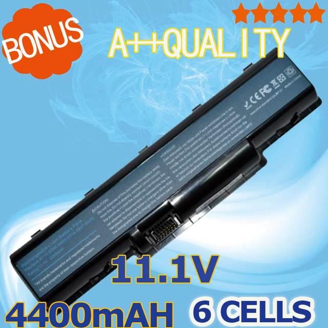 6 células bateria do portátil para acer aspire 4937 4937g 5235 5236 5241 5335 5335Z 5338 5535 5536G 5541 5541G 5732Z 5732ZG 5734Z 5735