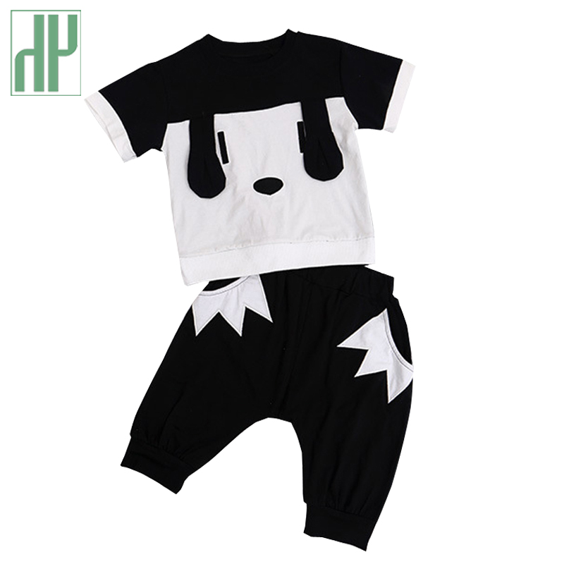 Toddler Boys clothes Cartoon dog kids girls clothes summer children clothing cheap Cotton new year costume for boy tracksuit