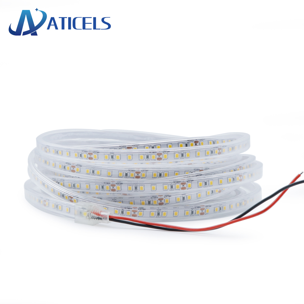 New 24V LED Strip SMD 2835 120LEDs/m Outdoor Waterproof Ultra Thin Flexible Strip Light White,Natural White,Warm White
