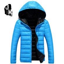 ultra light down jacket font b men b font long sleeve font b hoodied b font