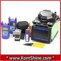 FX35 KOMSHINE Fusionadora + KFC-33 Fiber cleaver + Medidor de Potencia Óptica + Fuente de Láser + Localizador Visual de Fallos