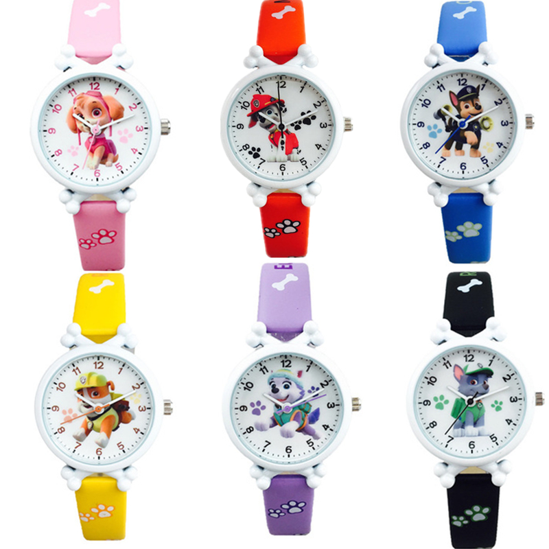 Paw Patrol Digital Watch Time Develop Intelligence Learn Dog Everest Action Anime Figure Patrulla Canina Toy Of Children Gift
