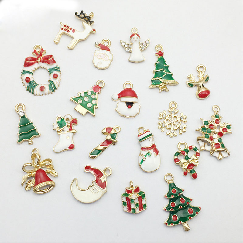 Buttons New 50pcs Christmas Holiday Wooden Collection Snowflakes Buttons Snowflakes Embellishments 18mm Creative Decoration Fixing Prices According To Quality Of Products Home & Garden