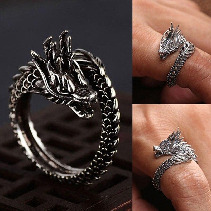 Dudee Luxury Female Finger Ring5 Big Zircons Women sterling silver engagement ring fashion ring set