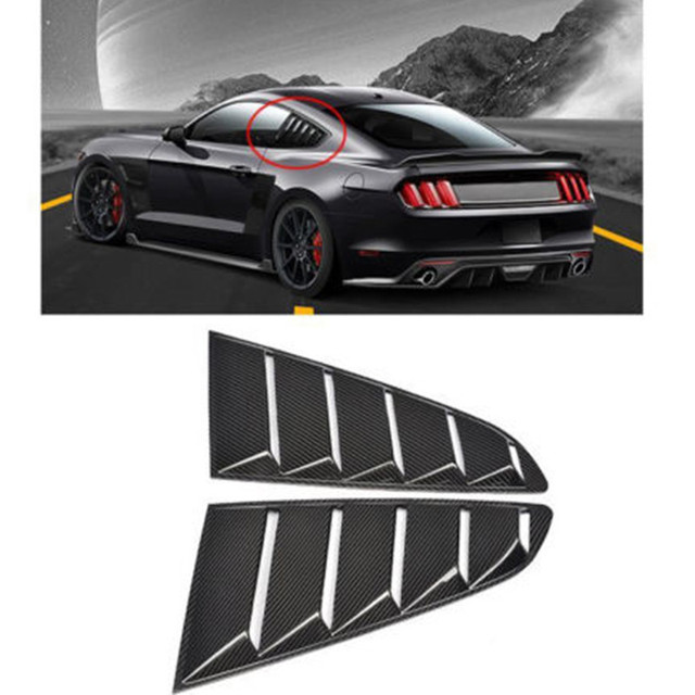 OSIAS 2 pics CAR STICKER Mouldings Trim For 15-17 Ford Mustang OE Style Paint PP