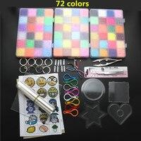 2.6mm Mini Hama Perles Ensemble Jouet, Perler BRICOLAGE Perles Puzzle Outils Planches Kit, Hama Perler Perles, enfants Jouets, Juguetes Cadeau