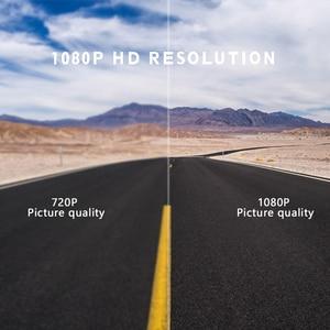 "Image 2 - 4.0"" Car Dash Cam Full HD 1080P 170 Degree Video Recorder Dual Lens Vehicle Camera Car DVR with Rear View G sensor Night Vision"