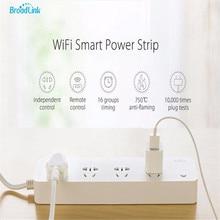 Broadlink MP1 Smart Мощность розеток отдельно Управление lable Wi-Fi Дистанционное управление 4 выхода Мощность разъем для Умный дом