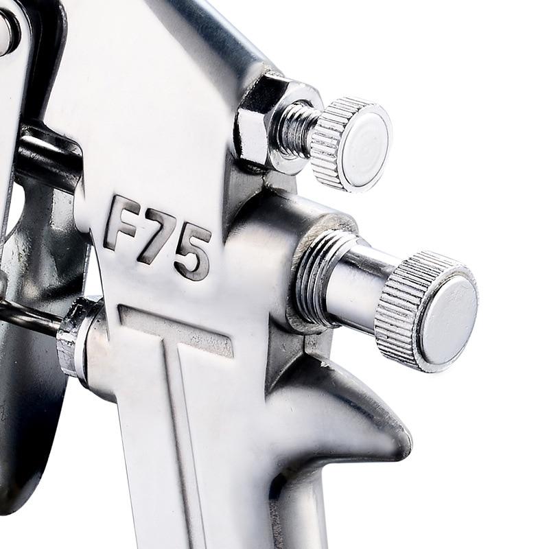 F75 400ML pneumatikus szórópisztoly légkefe permetező - Elektromos kéziszerszámok - Fénykép 4