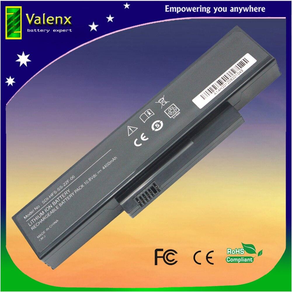Ordinateur portable Batterie SMP-EFS-SS-22E-06 FOX-E25-SA-XXF-04 Pour FUJITSU ESPRIMO Mobile V5515 V5535 V5555 V6515