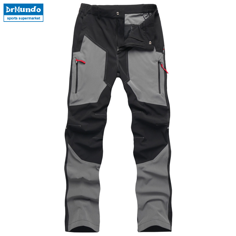 2018 New Outdoor Hiking Pants Ultra thin Breathable Quick Drying Men Summer Waterproof Elastic Mountaineering Fishing