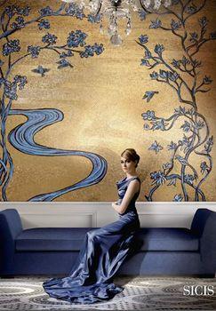 Wandmosaik Wandkunst