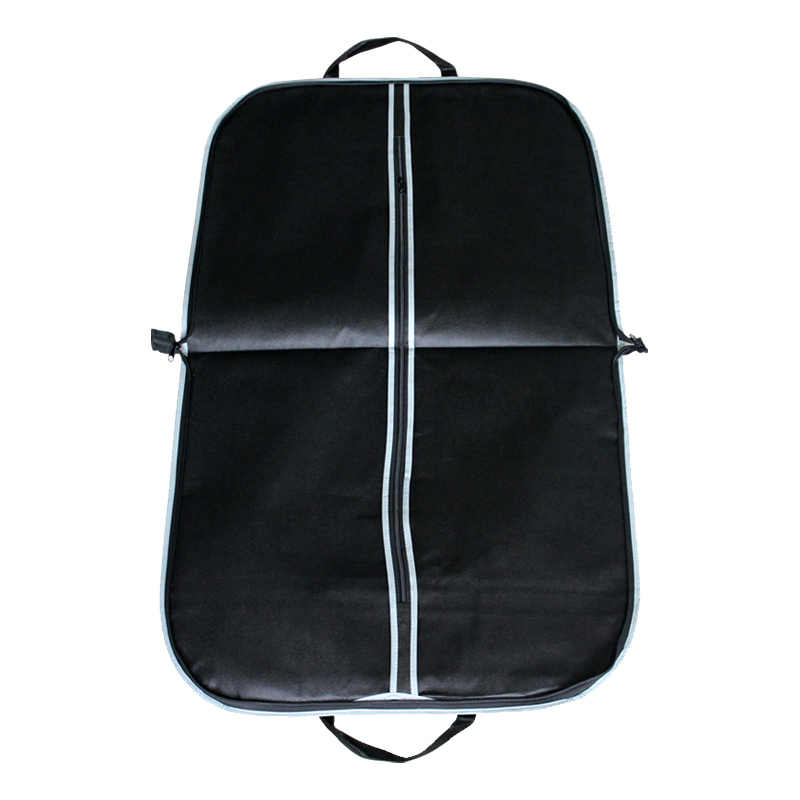 Портативная Черная утолщенная одежда пылезащитный чехол на молнии мужской костюм пальто чехол для хранения путешествия бизнес складной вешалка сумка FK004
