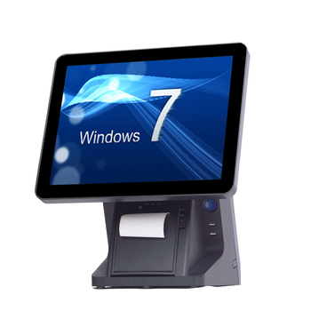 15 inch POS System / Touch All in One POS Complete pos for retail shops epos system