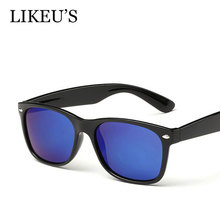 LIKEU'S Classic Polarized Sunglasses Men Women Driving Travel Fashion Brand Unisex Rivet square Sunglasses UV400 Free Shipping