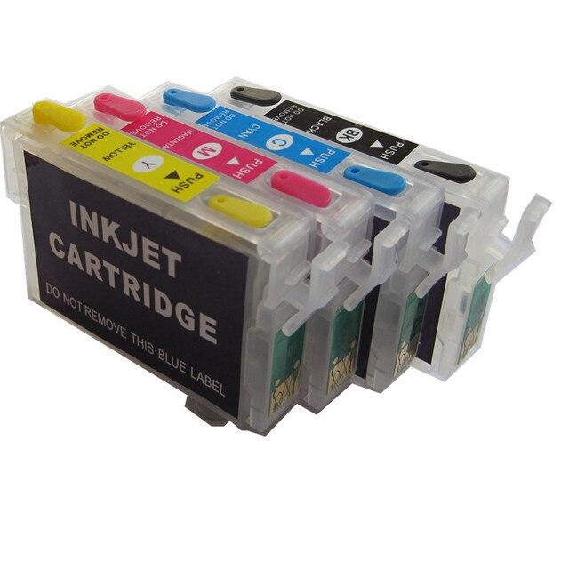 Cartucho de tinta para epson stylus, cartucho de impressora 92n 92 .pdf, tx106 tx117, tx119, tx109, c91, cx4300 chip de redefinição automática