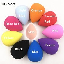 1pcs Cosmetics Puff Powder Puff Smooth Women's Makeup Foundation Sponge Beauty to Make Up Tools Accessories Water-drop Shape Hot(China)