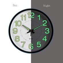 1pc 12 Inch Luminous Clocks Glow In The Dark Quartz Watch Fo
