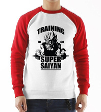 Super Saiyan raglan sleeve casual sweatshirt (4 colors)