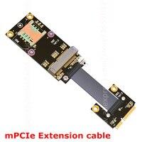 Mini PCI E MPCIe Wireless Network Card Extension Cord Adapter Extender Cable Riser Mini Pci E