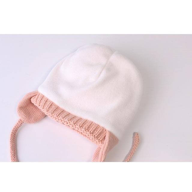 Baby Boy's Funny Soft Winter Hat
