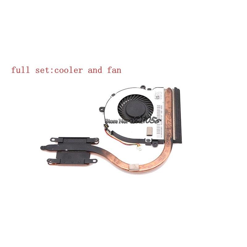 Nokotion CN-074X7K 074X7K 74X7K CN-07H5H9 07H5H9 для Dell Inspiron 17 3721 3521 кулер для процессора радиатор в сборе радиатор с вентилятором