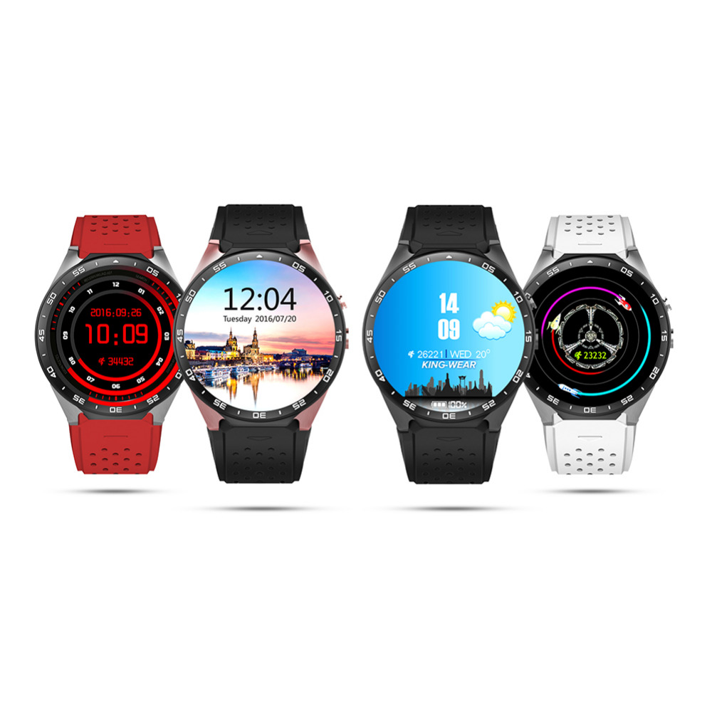 Smart <font><b>Watch</b></font> Android 5.1 IOS OLED Screen Smartwatch <font><b>Support</b></font> <font><b>SIM</b></font> Card GPS WiFi Call Reminder Heart Rate Monitor <font><b>Pedometer</b></font>