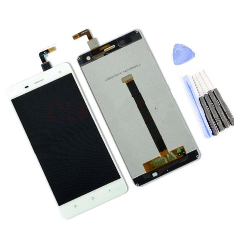 Texted buena qulaity para Xiaomi Mi4 Mi-4 M4 pantalla Lcd pantalla táctil digitizador Asamblea con herramienta