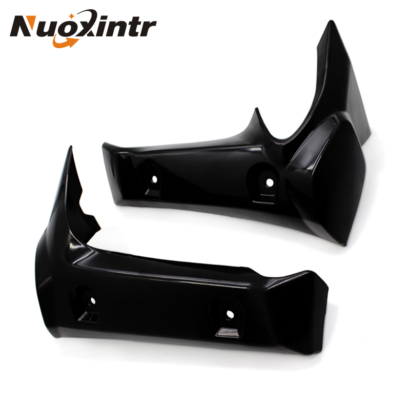 Nuoxintr Motorcycle Radiator Cover Side Pane Black For Yamaha FZ1 2006 2007 2008 2009 2010  Motocross Radiator Cover