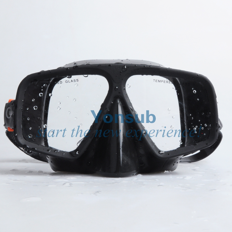 Envío gratis Snorkel Sambo silicona máscara de buceo negro tubo de - Deportes acuáticos - foto 2
