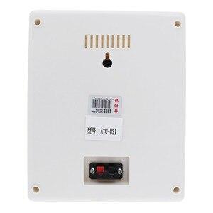 Image 5 - ATC 831 6.5 inç 6W moda duvara monte tavan hoparlör kamu yayın hoparlörü için Park/okul/alışveriş alışveriş merkezi/demiryolu