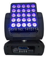 Hot sell 25pcsx12w 4 in 1 rgbw led moving head matrix stage light for disco led wash dj culb 25 eyes lighting effect