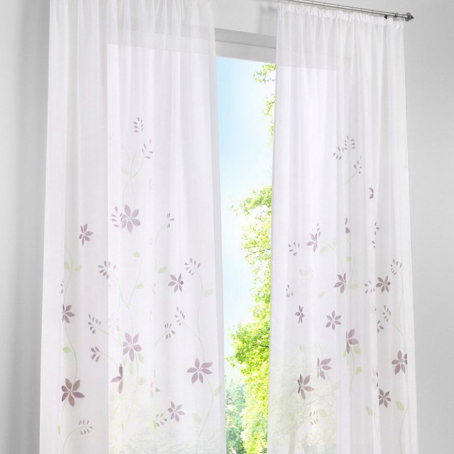 Image Result For Loop Curtains