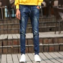 Four seasons На джинсы 2016 Стрейч Джинсы pantalones вакеро дизайнер осень мужчин бренда джинсы мужчин Известных Брендов Джинсы 963 1
