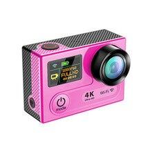 Ultra HD 4 К H8 WIFI Действий Камеры 360VP Полный 1080 P 60FPS мини Спорт DVR Видеокамер 170 Объектив 2 inch LCD Камеры Шлем Cam