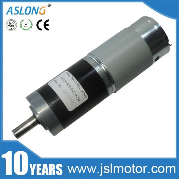 AS LONG 12V 24V PG36-555 planetary gear motors DC planetary gear motor
