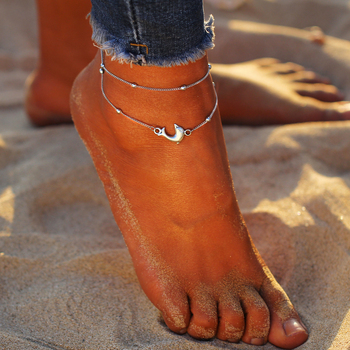 IF ME Bohemian Turtle Anklets for Women Vintage Silver Color Ankle Bracelet on Leg Summer Beach BOHO Foot Jewelry 2018 NEW Gift 2